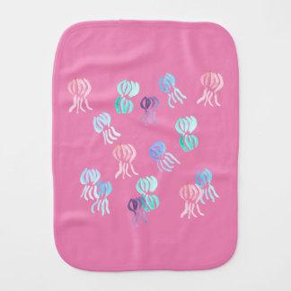 Jellyfish Burp Cloth