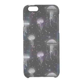 Jellyfish By Night Clear iPhone 6/6S Case