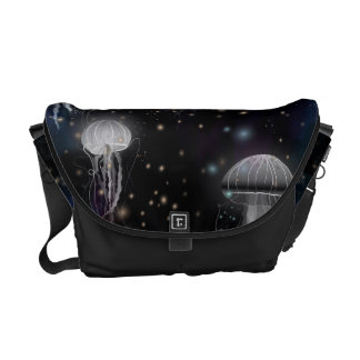 Jellyfish By Night Commuter Bag