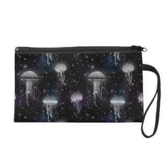 Jellyfish By Night Wristlet