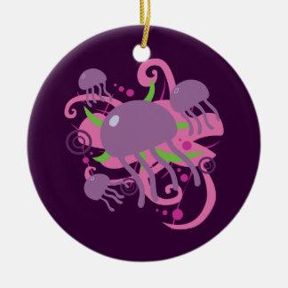Jellyfish Christmas Ornament