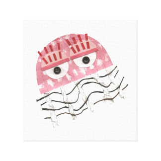 Jellyfish Comb Canvas