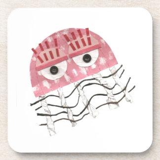 Jellyfish Comb Cork Coasters