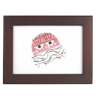 Jellyfish Comb Keepsake Box