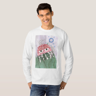 Jellyfish Comb Men's Jumper T-Shirt