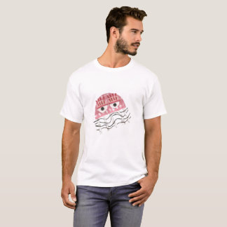 Jellyfish Comb No Background Men's T-Shirt