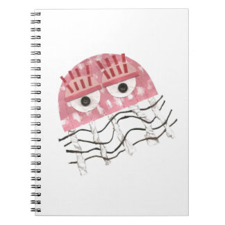 Jellyfish Comb No Background Notebook