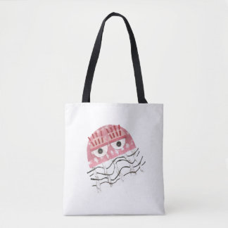 Jellyfish Comb No Background Tote Bag