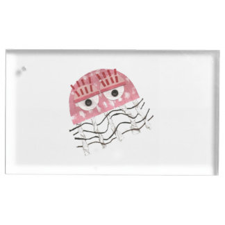 Jellyfish Comb Table Business Card Holder