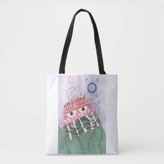 Jellyfish Comb Tote Bag