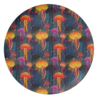 Jellyfish Dance Plate