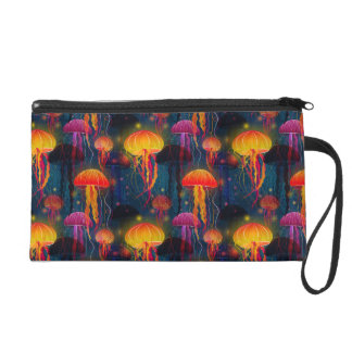 Jellyfish Dance Wristlet
