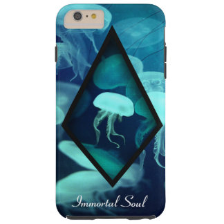 Jellyfish Design Tough iPhone 6 Plus Case
