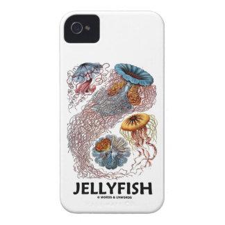 Jellyfish (Ernest Haeckel's Artforms Of Nature) Case-Mate iPhone 4 Cases
