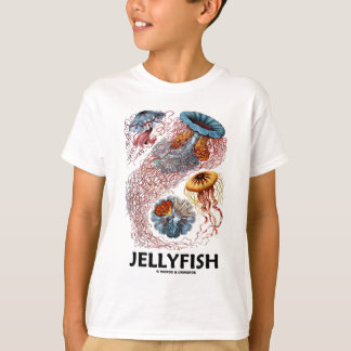 Jellyfish (Ernest Haeckel's Artforms Of Nature) T Shirt