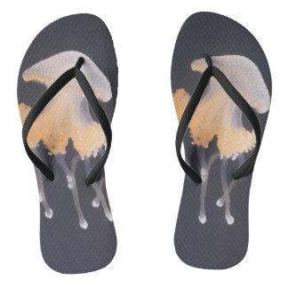 Jellyfish flip flops