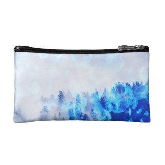 Jellyfish Forest Cosmetic Bag / Clutch - Nature