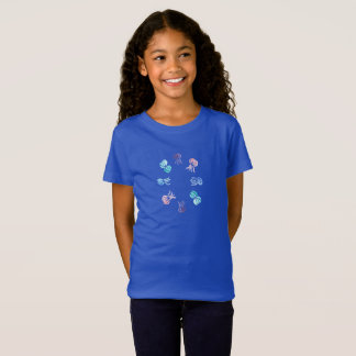 Jellyfish Girls' Jersey T-Shirt