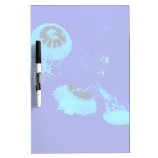 Jellyfish in Mexico (Blue) Dry Erase Board