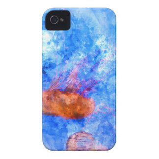 Jellyfish in the Sea Case-Mate iPhone 4 Cases