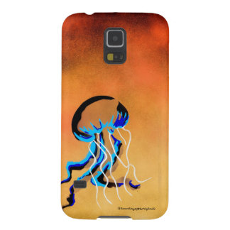 Jellyfish in yellow ocean galaxy s5 covers