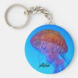 Jellyfish Key Chain