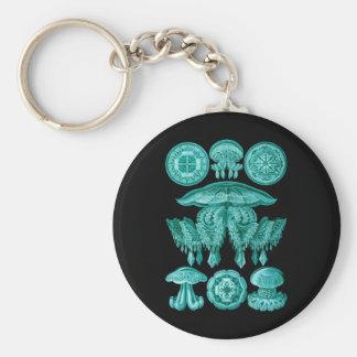 Jellyfish Key Chains