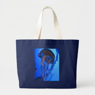 Jellyfish Large Tote Bag