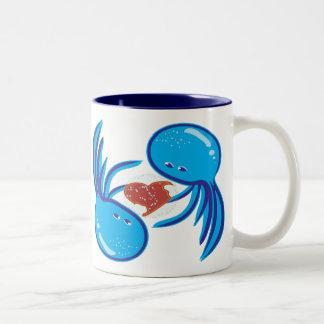 jellyfish love bubble share mug
