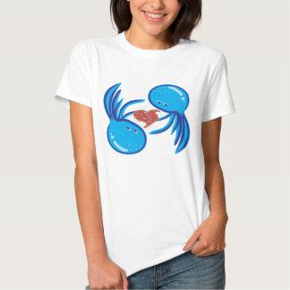 jellyfish love bubble share T-shirt