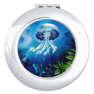Jellyfish Makeup Mirror