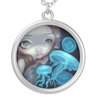 Jellyfish Mermaid NECKLACE Portholes to Fantasy 4
