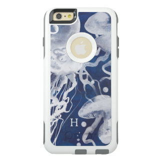Jellyfish on Navy Background OtterBox iPhone 6/6s Plus Case
