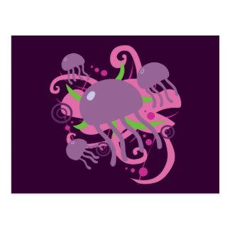 Jellyfish Post Cards