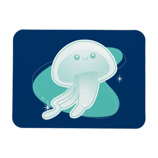 Jellyfish Rectangle Magnets