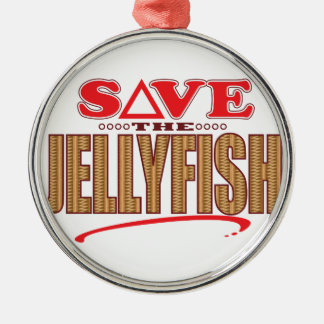 Jellyfish Save Christmas Ornament