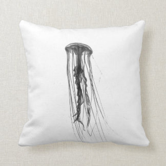 Jellyfish Silhouette | Throw Pillow