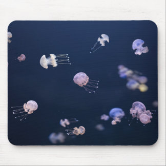 Jellyfish Swimming In The Ocean Mouse Mat