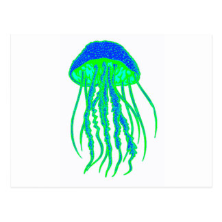 JELLYFISH THE MOLD POST CARD