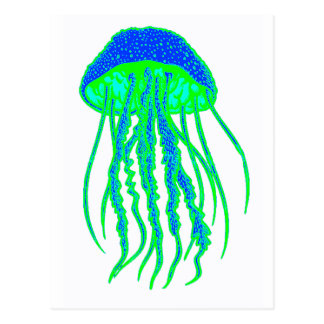 JELLYFISH THE MOLD POSTCARD