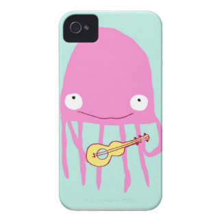 Jellyfish with ukelele iPhone 4 covers