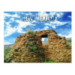 Jemez Pueblo Ruins, Jemez State Monument, NM Post Card