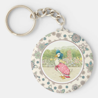 Jemima Duck by Beatrix Potter. Gift Keychains