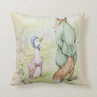 Jemima Puddle-Duck & The Fox Cushion