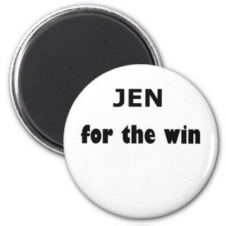 Jen FTW 6 Cm Round Magnet