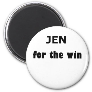 Jen FTW Fridge Magnet
