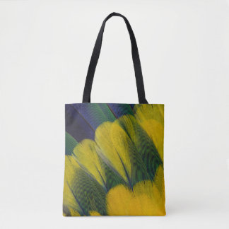 Jenday Conure Feathers Close-Up Tote Bag