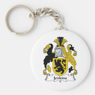 Jenkins Family Crest Keychains