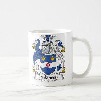 Jenkinson Family Crest Coffee Mugs