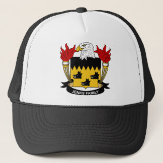 Jenks Family Crest Trucker Hat